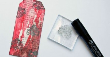 How to craft a bookmark with Gelatos